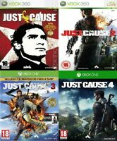 Just Cause Xbox 360 / Xbox one Backward Compatible Bundle - Super Fast Delivery