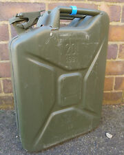 EX GERMAN ARMY 20L JERRY CAN FUEL CAN METAL 20 LITRE STORAGE