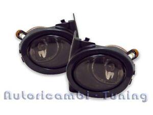 Set Pair Spotlights Fog Lamp Smoke Black BMW Serie 3 E46 16 5/12ft3 E39 M5