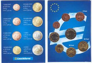 Austria 2002 - Set of 8 Euro Coins (UNC)