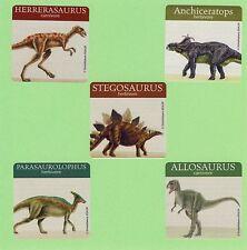 15 Dinosaurs - Large Stickers - Party Favors - Stegosaurus, Allosaurus