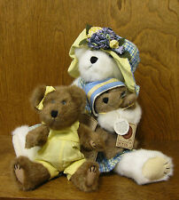 Boyds Plush #919808 BETTY LOU, CLEMINTINE & BABY JOSIE McCOY Show Exclusive NEW