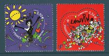 TIMBRES 4431-4432 NEUF XX LUXE - COEURS DE LANVIN - SAINT VALENTIN 2010