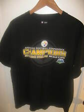 Pittsburgh Steelers NFL AFC American Football Conference Champion 2008 T Shirt L