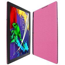 Skinomi Black Carbon Fiber Skin Clear Screen Protector for LG Stylo 2v