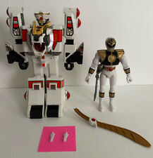 MM Power Rangers White Tigerzord & White Ranger 1994 | Vintage | Excellent Cond