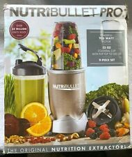 NutriBullet Pro 900 Watts Extractor Blender Set - in box