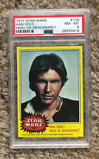 1977 (TOPPS) STAR WARS #139 HAN SOLO... HERO OR MERCENARY? (PSA) 8