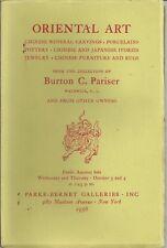 PB CHINESE Ceramics Jade Snuff Bottles Bronzes Carvings Furniture Catalog 1956