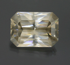 Huge Light Brown Cerussite: 42.08ct GIA Certified Transparent & Untreated