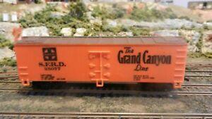 "Life- Like HO Santa Fe ""Grand Canyon"" Wood Billboard Reefer, Exc."