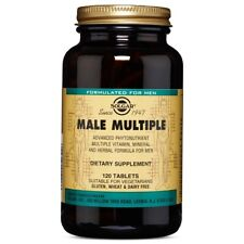 Solgar Male Multiple - 120 Tablets FRESH, FREE SHIPPING, MADE IN USA