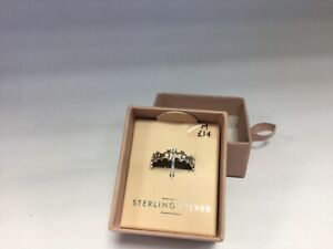 New Next Sterling Cut out Silver Ring M Boxed