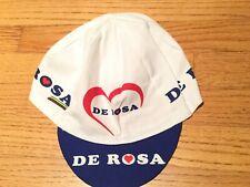 De Rosa Cycling Cap Hat White Fixie Road