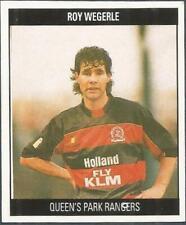 ORBIS 1990 FOOTBALL COLLECTION-#S107-QUEENS PARK RANGERS-ROY WEGERLIE