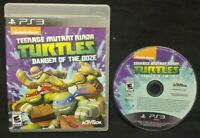 Teenage Mutant Ninja Turtles Danger of the Ooze PlayStation 3 PS3 Nickelodeon
