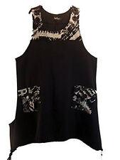 Damenblusen,-Tops & -Shirts im Tuniken-Stil mit Rundhals und Viskose für Business