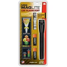 Maglite Black 2-Cell Aa Led Mini Mag W/Holster - Maximum Brightness - Sp2201H