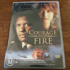 Courage Under Fire DVD R4 Like New! FREE POST