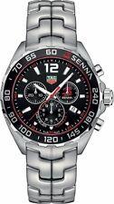 Tag Heuer Men's CAZ1015.BA0883 'Senna' Chronograph Stainless Steel Watch