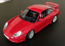 Porsche 911 Carrera GT3 Red by AUTOart 1/18 DISPLAY MODEL-display model no box