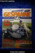 Motorrad Gespanne Nr.55 1/00 Harley Road King BMW R 1100 GS