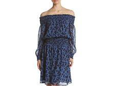 $175 MICHAEL KORS ARBOR FLORAL PRINT OFF THE SHOULDER  DRESS SIZE MEDIUM