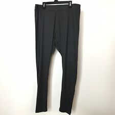 Massini Leggings Size L/XL Grey Elastic Waist