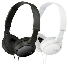 Sony MDR-ZX110 Stereo Over-Head Headphone Extra Bass Black & White Colors