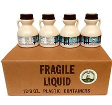 Wedding and Party Favors -Case of Twenty-four 8 oz Jugs of Vermont Maple Syrup