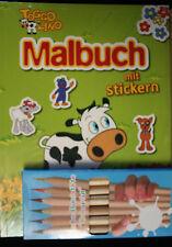 **TOGGO LINO**Malbuch/ + Sticker/ + Jumbo-Buntstifte** neu und unbespielt**