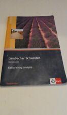 Buch Lambacher Schweizer Mathematik Basistraining Analysis Niedersachsen 1.Aufla