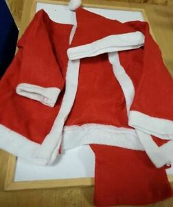 LITTLE BOY FATHER CHRISTMAS OUTFIT, CONSIST OF 3 PIECES