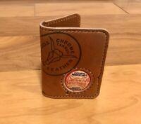 Spalding Minimalist 2 Pocket Leather Baseball Glove Wallet