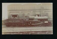 Railway GWR Great Western County Dublin loco #3804 pre1919 RP PPC by Poutreau