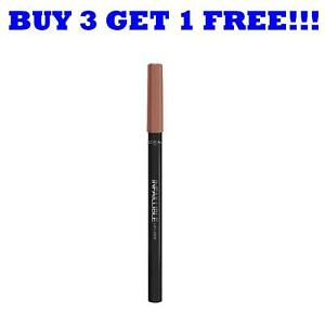 L'Oreal Paris Infallible Lip Liner 101 Gone With The Nude