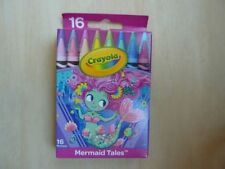Crayola Pick your pack crayons, Mermaid Tales, 16 pack from 2017, 52-4414