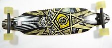 Sector 9 Star 2011 Black Yellow Silver 39 x 9.5 Longboard Complete Skateboard