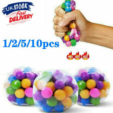 1-10PCS Sensory Stress Reliever Ball Toy Autism Squeeze Anxiety Fidget Toys R3UK