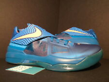 Nike Zoom KEVIN DURANT KD IV 4 YEAR OF THE DRAGON YOTD GREEN ABYSS MANGO BLUE 13