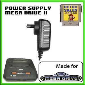 Sega Mega Drive II Power Supply Adapter MK-1636 Genesis 2 PC Eng Duo-R 32X Nomad