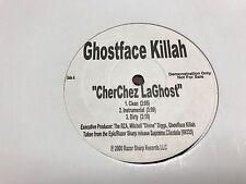 "GHOSTFACE KILLAH CHERCHEZ LAGHOST / WE MADE IT 12"" 2000 RAZOR SHARP DJ PROMO"