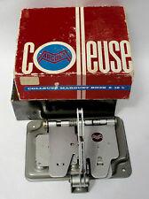 Máquina de corte de película vintage Marguet Colleuse BN2B 8/16 M/M Buena Condición en Caja