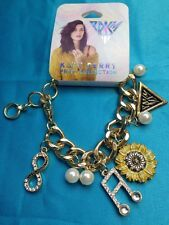 Katy Perry Prism Collection Gold Tone Charm Music Note Flower More Bracelet New