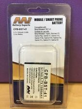 MOBILE / SMART PHONE BATTERY CPB-BST-41 3.7V 1500mAh 5.6Wh ( FOR SONY-ERICSSON )