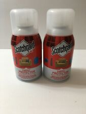 Scotchgard Fabric and Upholstery Protector 6 Oz x 2 bottles