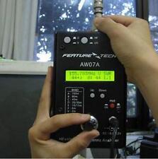 160M HF/VHF/UHF Impedance SWR Antenna Analyzer AW07A for Ham Radio Hobbists