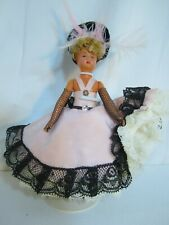 SMALL CELLULOID CAN-CAN DANCER DOLL FROM FRANCE