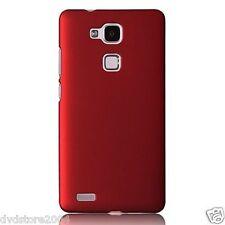 Custodia BACK ROSSA Cover Case Rigida Hard Plastica Matte per Huawei Mate S