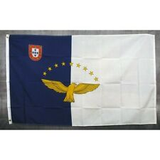 Azores Country flag Banner Sign 3' x 5 Foot Polyester With Grommets